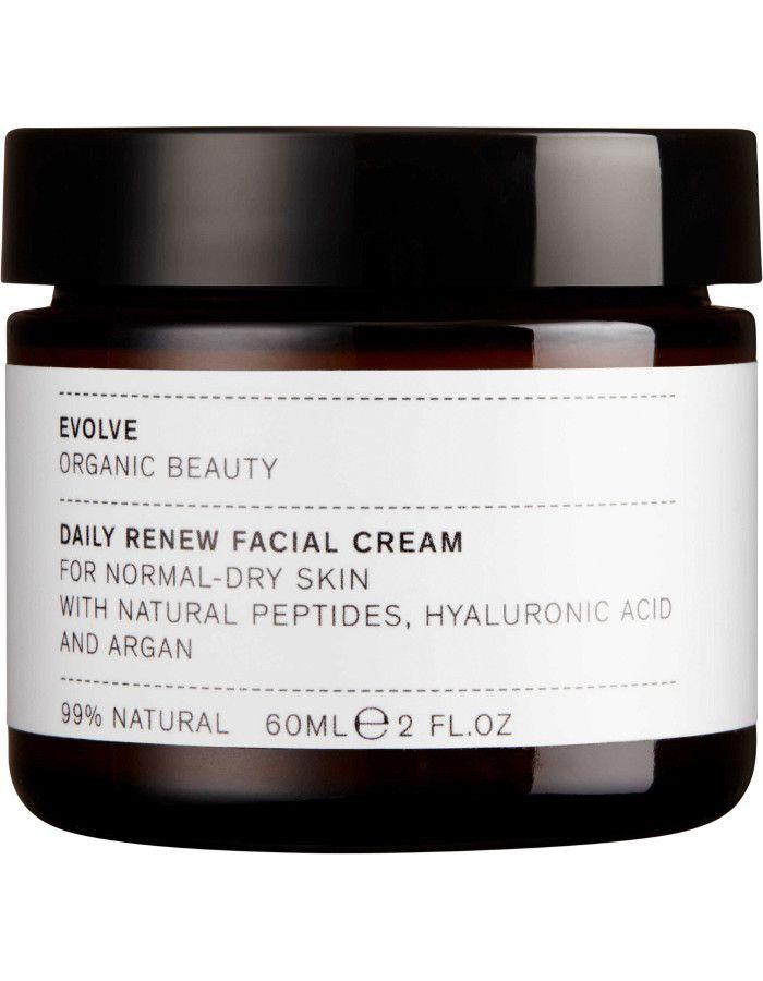 Evolve Organic Beauty Daily Renew Facial Cream 60ml