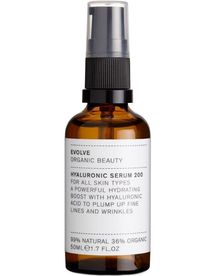 Evolve Organic Beauty Hyaluronic Serum 200 50ml 5060200048795 snel, veilig en gemakkelijk online kopen bij Beauty4skin.nl
