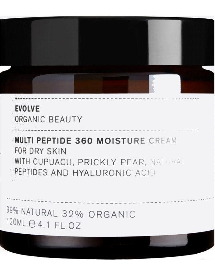 Evolve Organic Beauty Multi Peptide 360 Moisture Cream 120ml 5060200047927xl snel, veilig en gemakkelijk online kopen bij Beauty4skin.nl