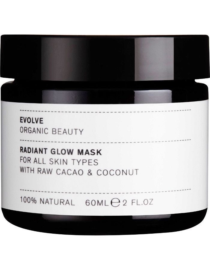Evolve Organic Beauty Radiant Glow Mask 60ml