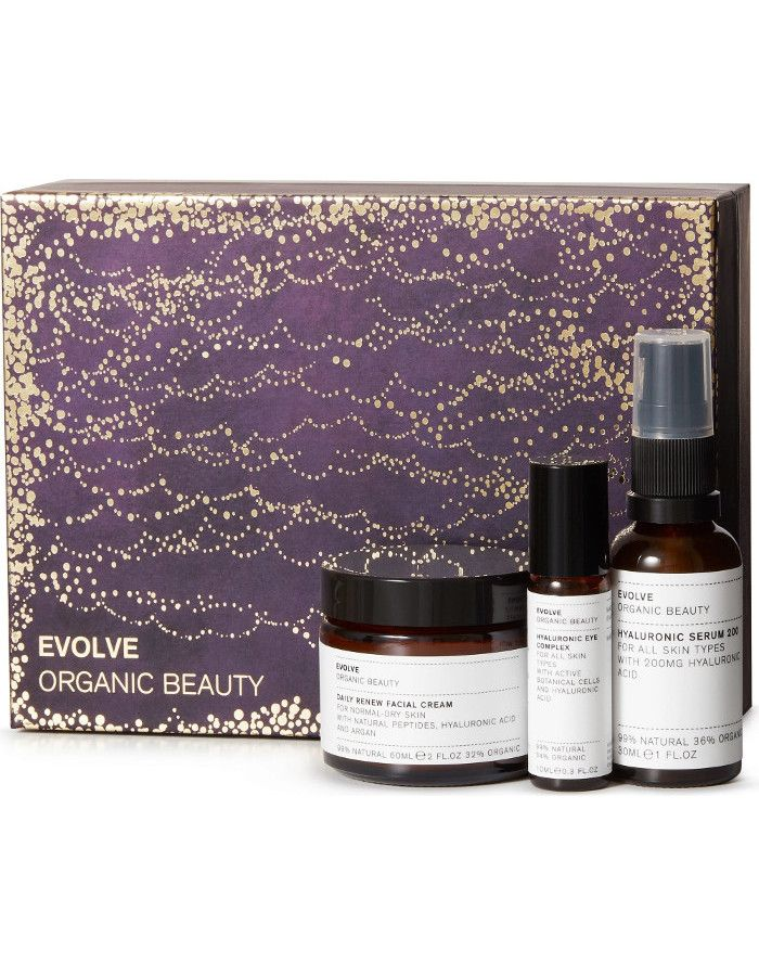 Evolve Organic Beauty Skin Icons Collection Gift Set 3-Delig