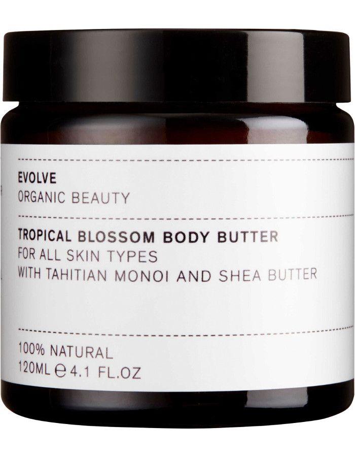 Evolve Organic Beauty Tropical Blossom Body Butter 120ml
