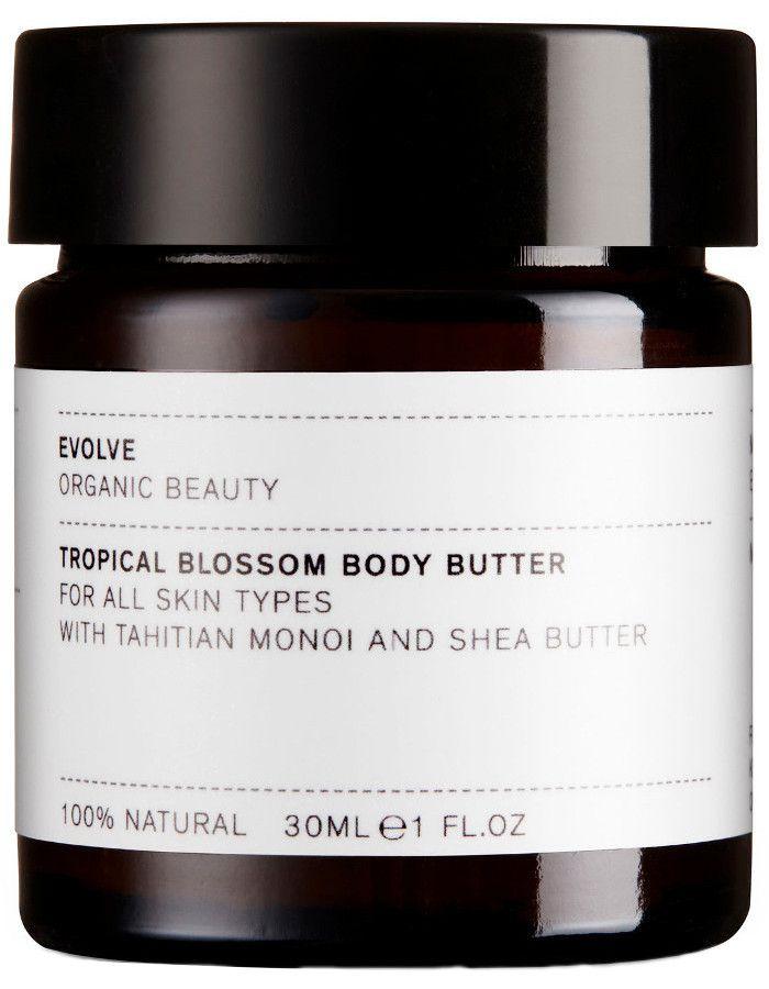 Evolve Organic Beauty Tropical Blossom Body Butter Travel Size 30ml