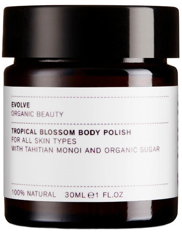 Evolve Organic Beauty Tropical Blossom Body Polish Travel Size 30ml