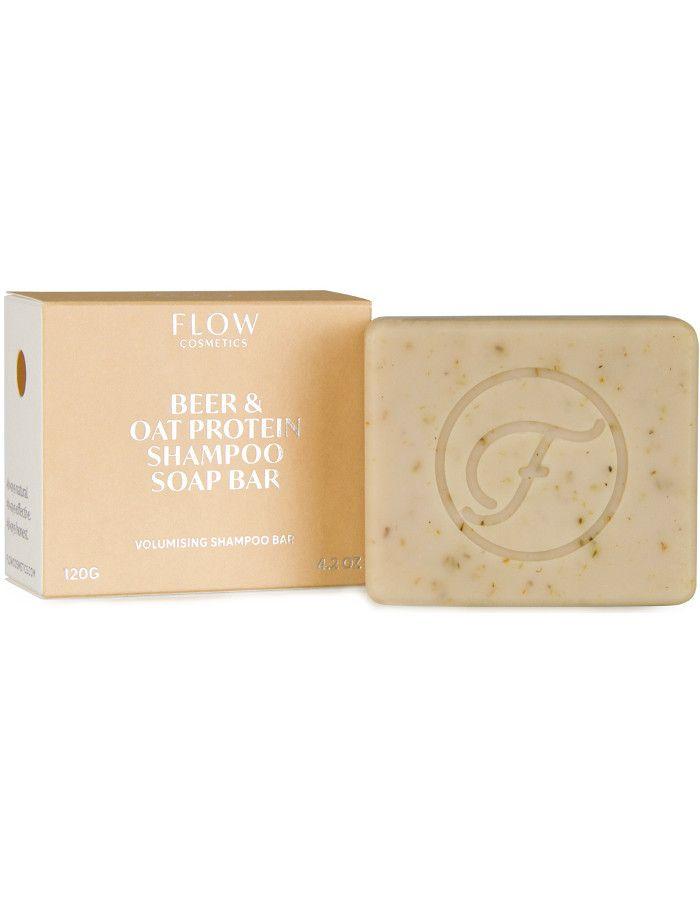 Flow Cosmetics Beer & Oat Protein Shampoo Soap Bar 120gr