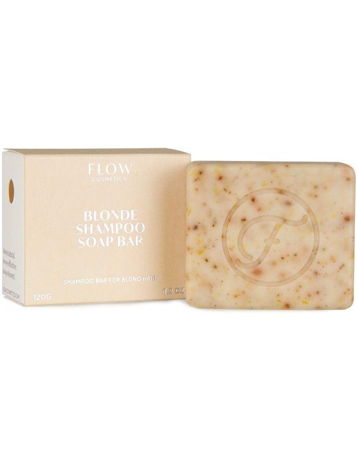 Flow Cosmetics Blonde Shampoo Soap Bar 120gr