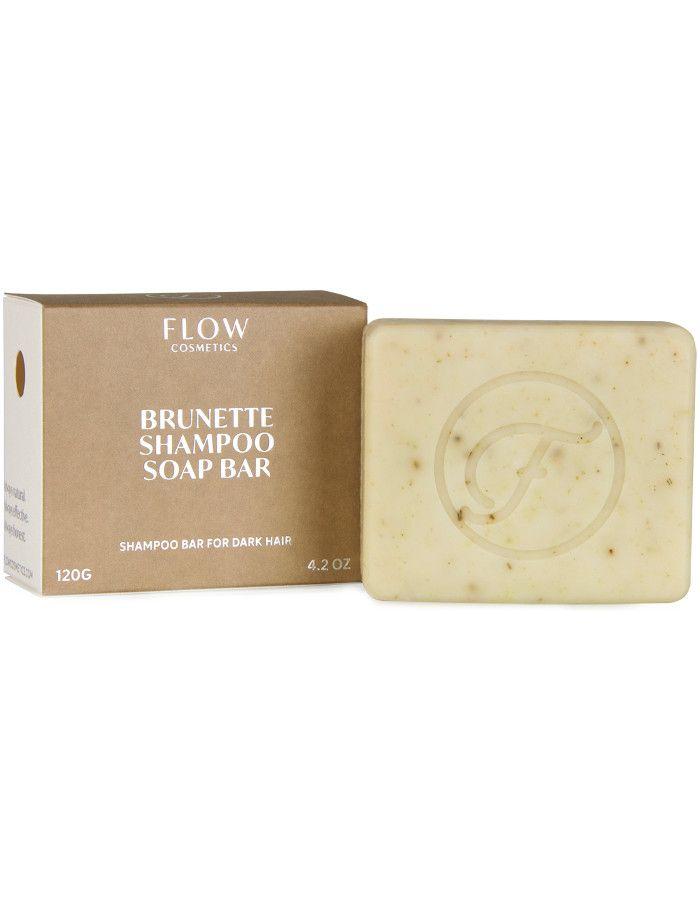 Flow Cosmetics Brunette Shampoo Soap Bar 120gr