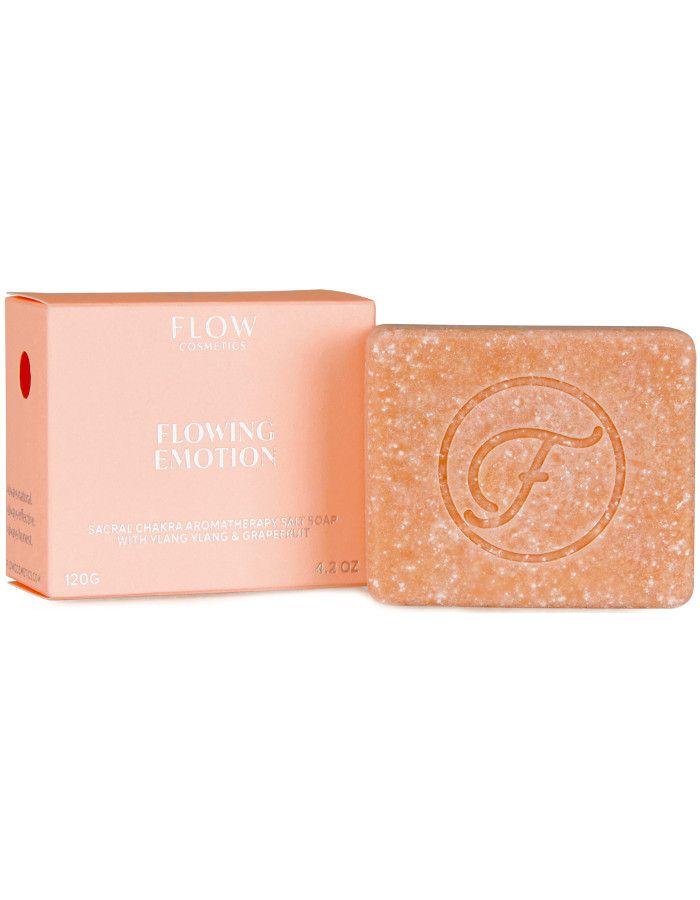Flow Cosmetics Flowing Emotion Aromatherapy Soap Ylang Ylang & Grapefruit 120gr 6430028394265 snel, veilig en gemakkelijk online kopen bij Beauty4skin.nl
