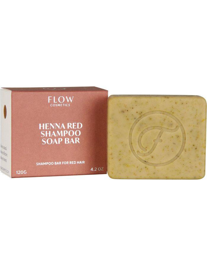 Flow Cosmetics Henna Red Shampoo Soap Bar 120gr