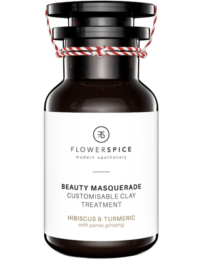 Flower and Spice Beauty Masquerade Hibiscus & Tumeric Clay Treatment 100ml 8719326462059 snel, veilig en gemakkelijk online kopen bij Beauty4skin.nl