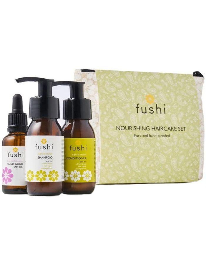 Fushi Nourishing Hair Care Set 4-Delig