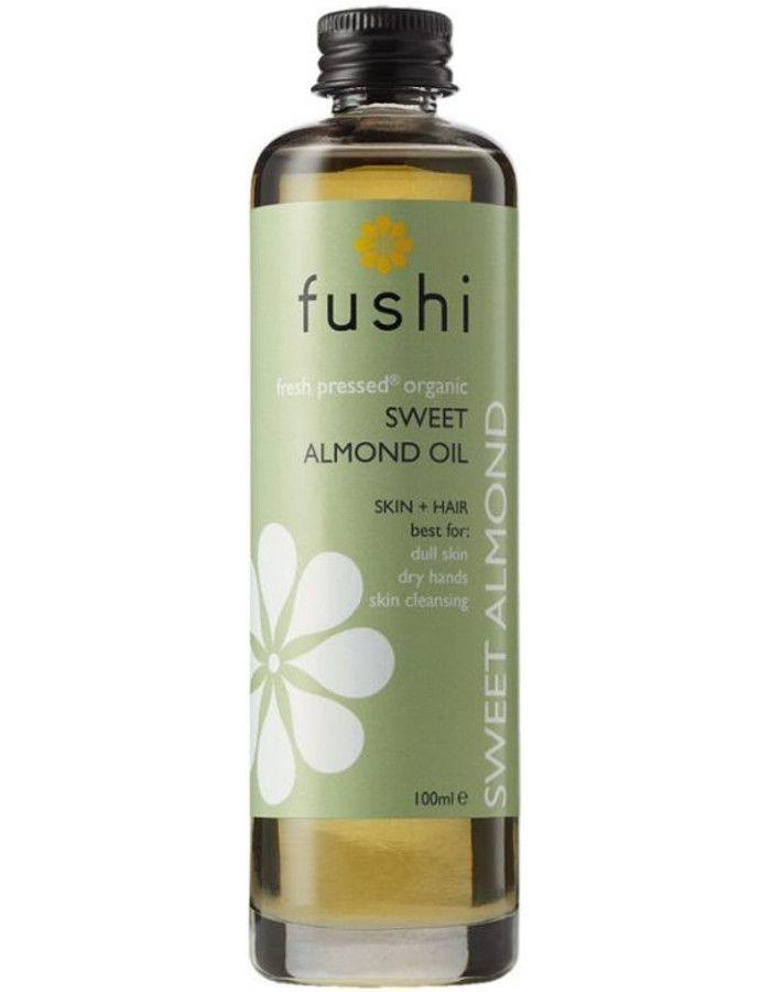 Fushi Organic Cold-Pressed Sweet Almond Oil 100ml