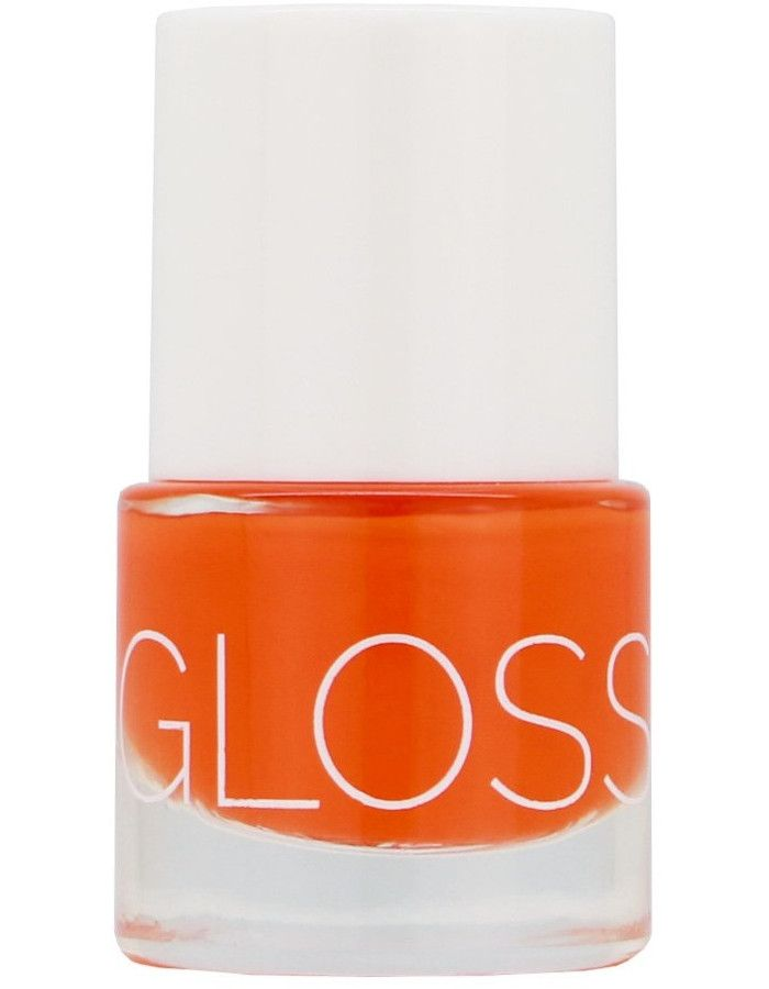 Glossworks 9-Free Vegan Gel Effect Nagellak Last Mango In Paris 9ml