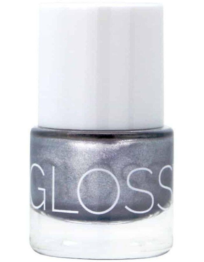 Glossworks 9-Free Vegan Gel Effect Nagellak Silver Bullet 9ml