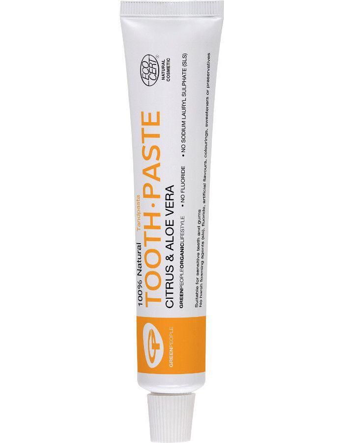 Green People 100% Natural Toothpaste Citrus & Aloe Vera 50ml