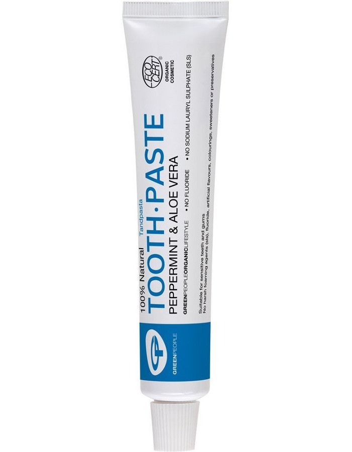 Green People 100% Natural Toothpaste Peppermint & Aloe Vera 50ml