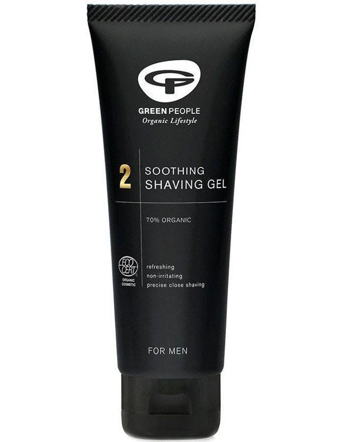 Green People 2 For Men Soothing Shaving Gel 100ml 5034511001961 snel, veilig en goedkoop online kopen bij Beauty4skin.nl