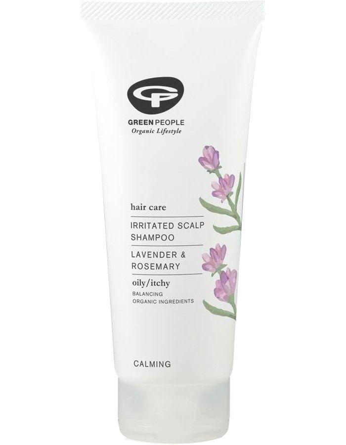 Green People Irritated Scalp Shampoo Lavender & Rosemary 200ml 5034511000254 snel, veilig en gemakkelijk online kopen bij Beauty4skin.nl