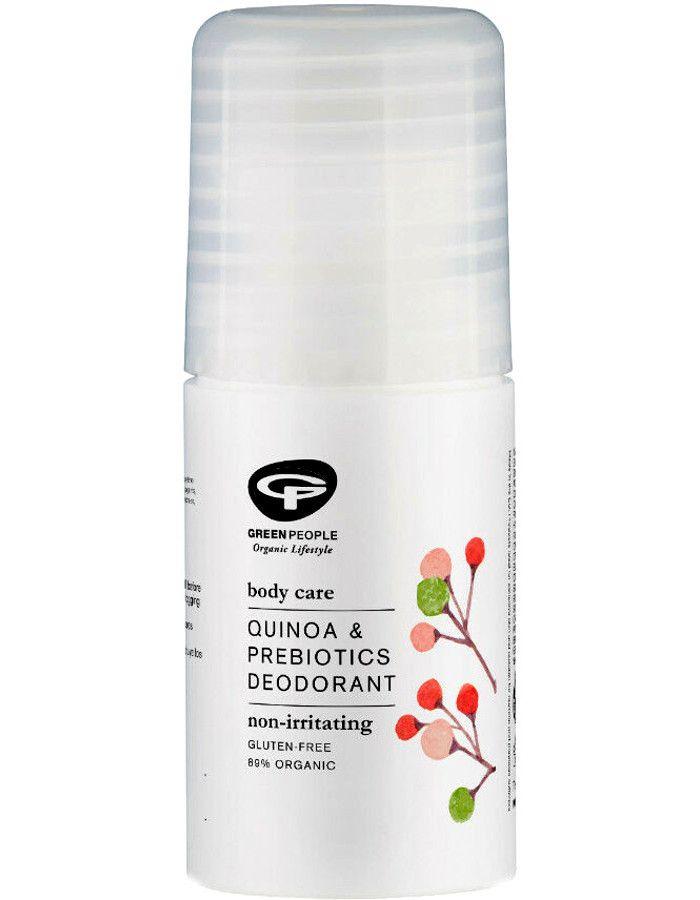 Green People Quinoa & Pre Biotics Deodorant Roller 75ml 5034511002760