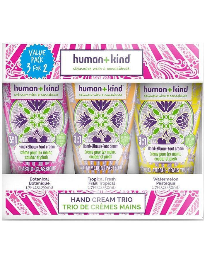 Human+Kind Hand Voet Elleboog Trio Gift Set 3-Delig