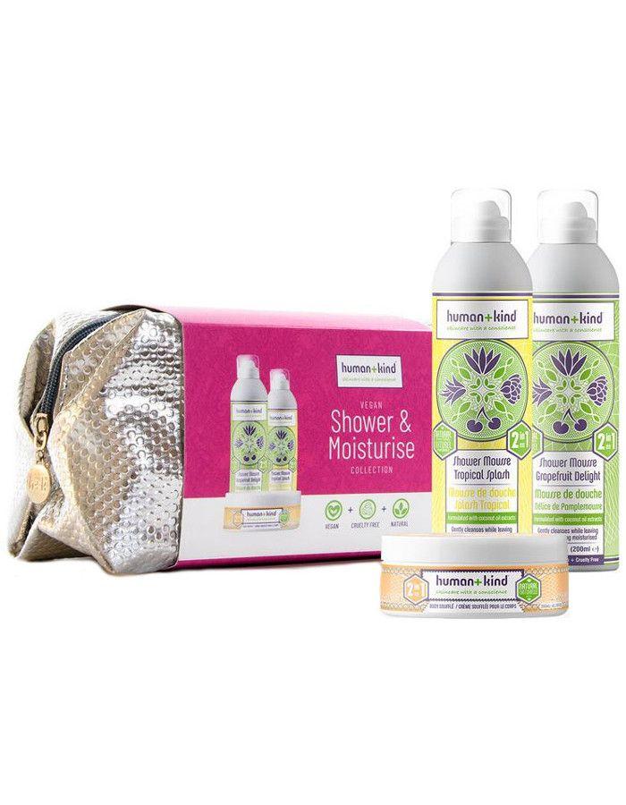 Human+Kind Shower & Moisture Collection Gift Set 4-Delig