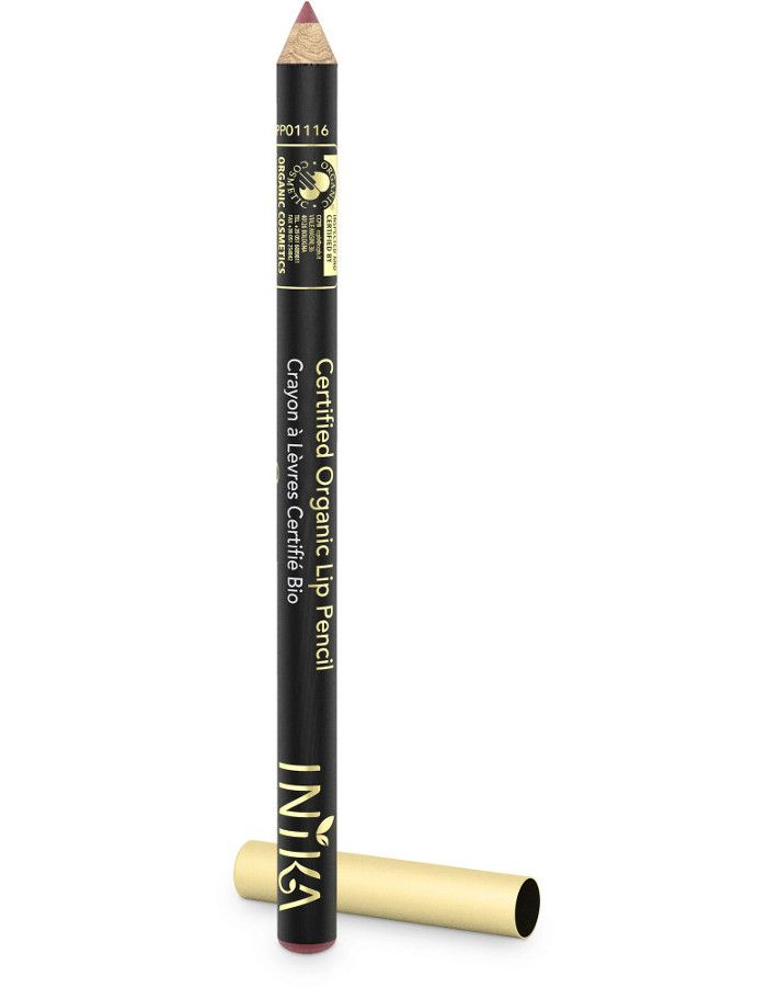 Inika Certified Organic Lip Pencil Dusty Rose