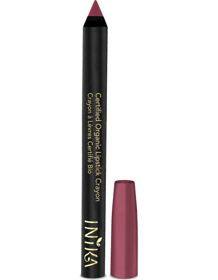 Inika Certified Organic Lipstick Crayon Rose Petal
