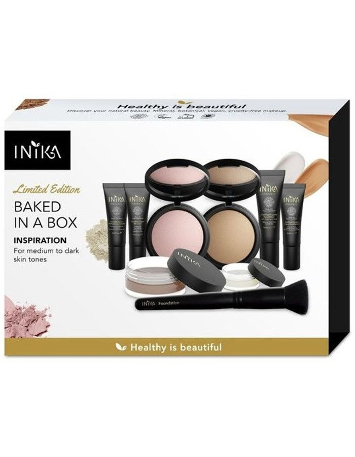 Inika Organic Baked In A Box Inspiration Gift Set 9-Delig