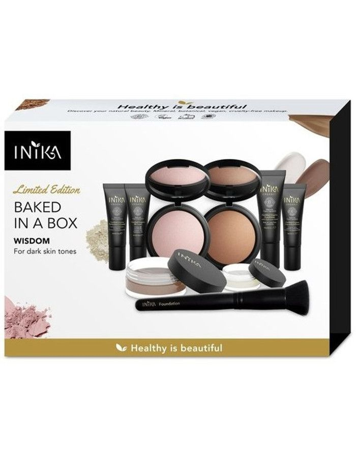 Inika Organic Baked In A Box Wisdom Gift Set 9-Delig