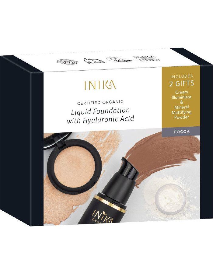 Inika Organic Fresh & Flawless Cocoa Gift Set 3-Delig