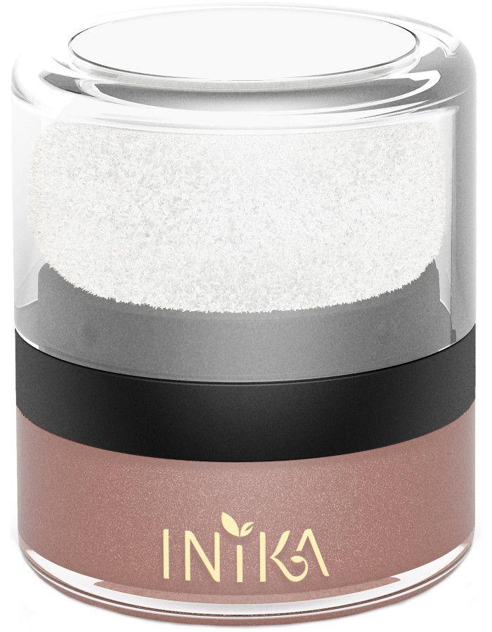 Inika Organic Mineral Blush Puff Rosy Glow