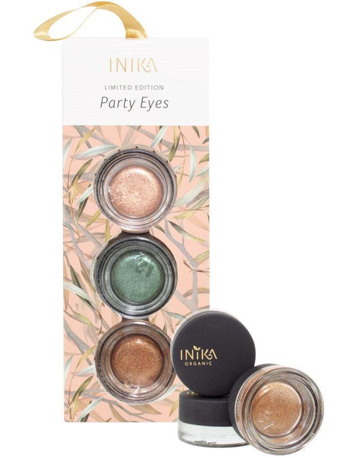 Inika Organic Party Eyes Gift Set 3-Delig
