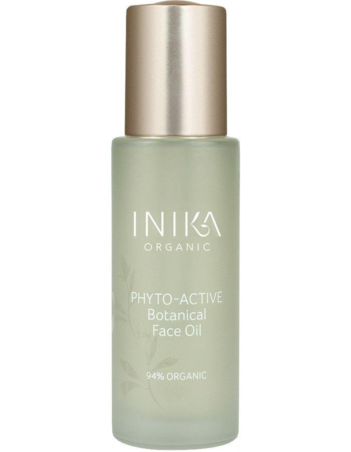 Inika Organic Phyto-Active Botanical Face Oil 30ml 9553527043605 snel, veilig en gemakkelijk online kopen bij Beauty4skin.nl