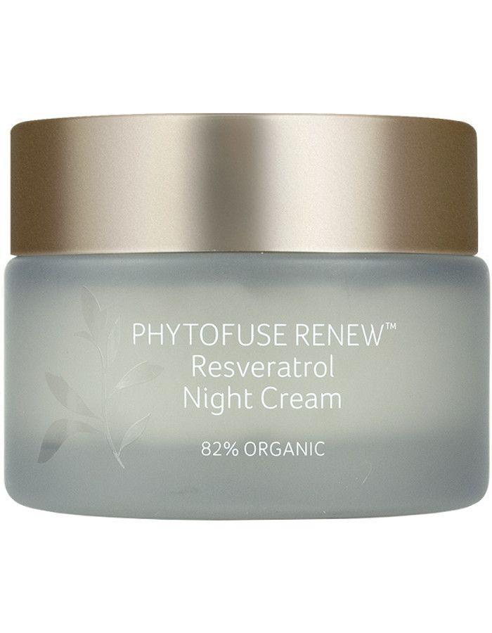 Inika Organic Phytofuse Renew Resveratrol Night Cream 50ml
