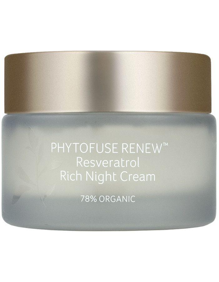 Inika Organic Phytofuse Renew Resveratrol Rich Night Cream 50ml