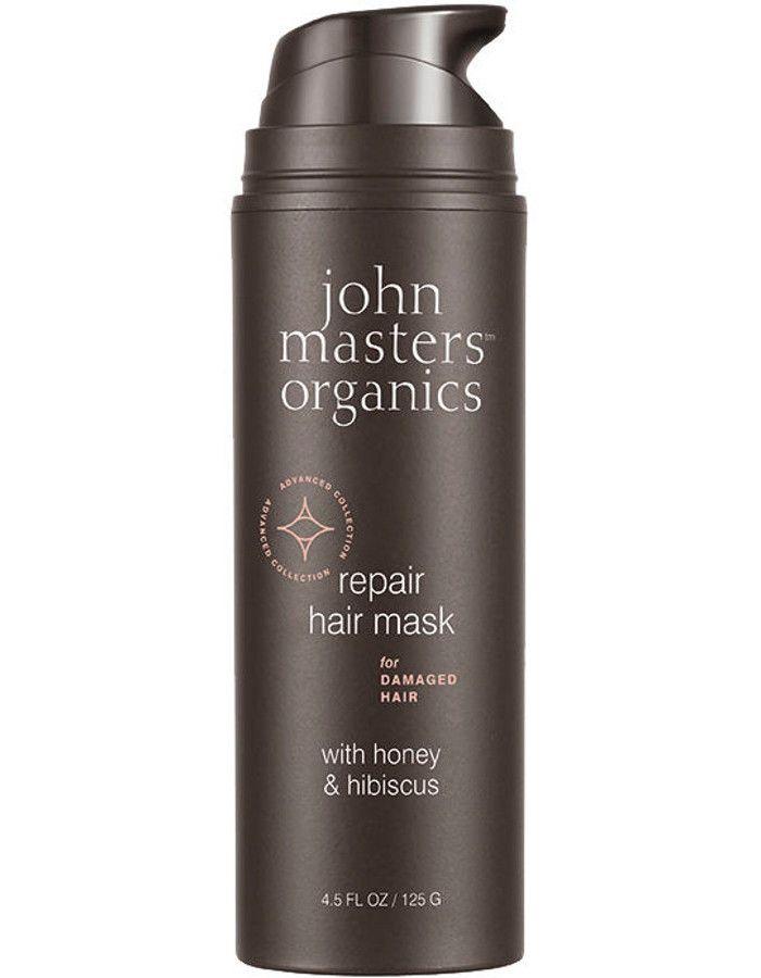 John Masters Organics Repair Hair Mask Damaged Hair Honey & Hibiscus 125gr
