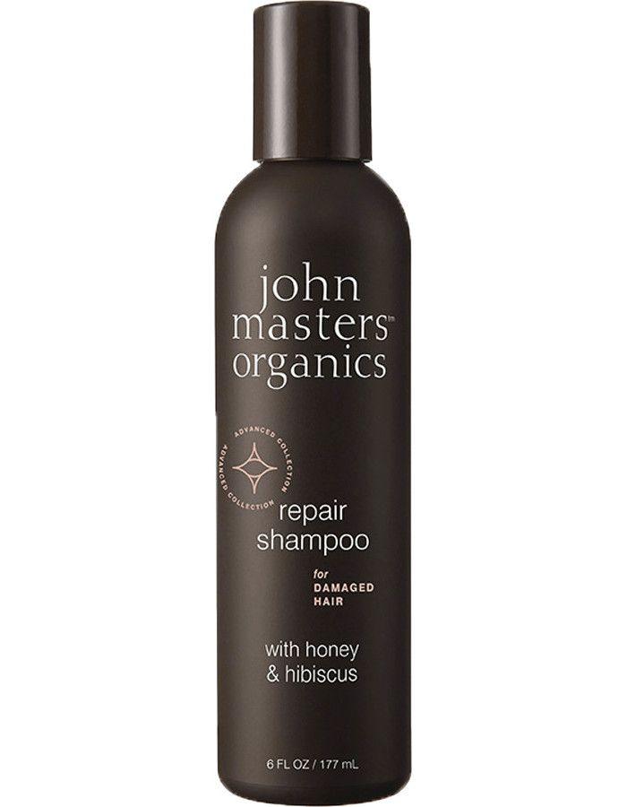 John Masters Organics Repair Shampoo Damaged Hair Honey & Hibiscus 177ml