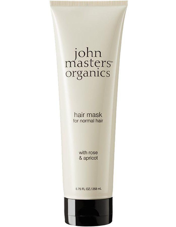 John Masters Organics Hair Mask Normal Hair Rose & Apricot 258ml