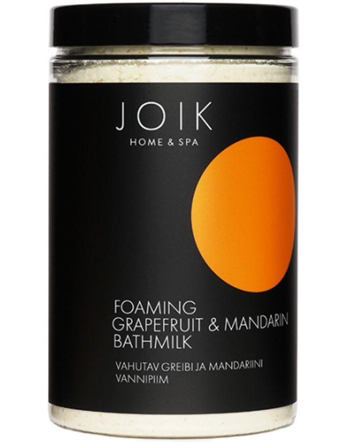 Joik Home & Spa Foaming Grapefruit & Mandarin Bathmilk 400gr