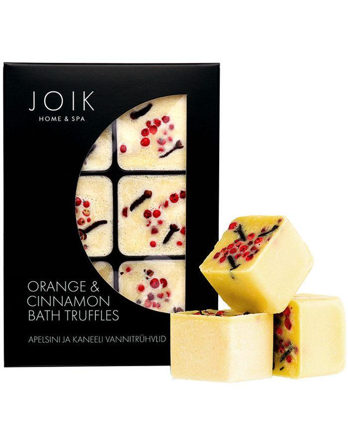 Joik Home & Spa Orange & Cinnamon Bath Truffels 6st