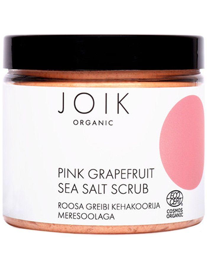 Joik Organic Pink Grapefruit Sea Salt Scrub 240gr