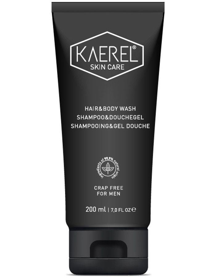 Kaerel Skin Care No Crap Shampoo En Douchegel Voor Mannen 200ml