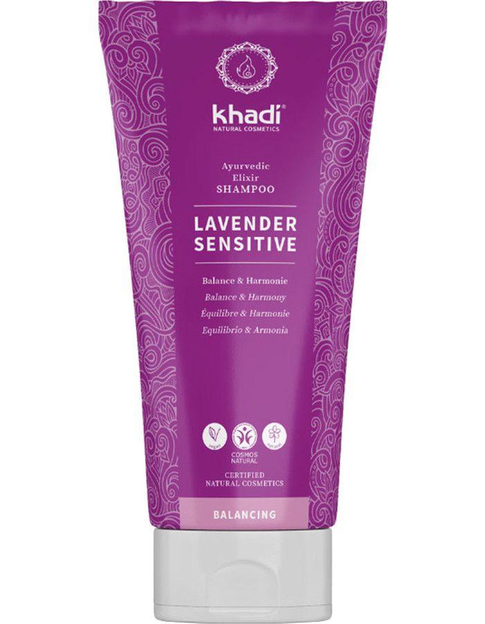 Khadi Ayurvedische Shampoo Lavender Sensitive 200ml