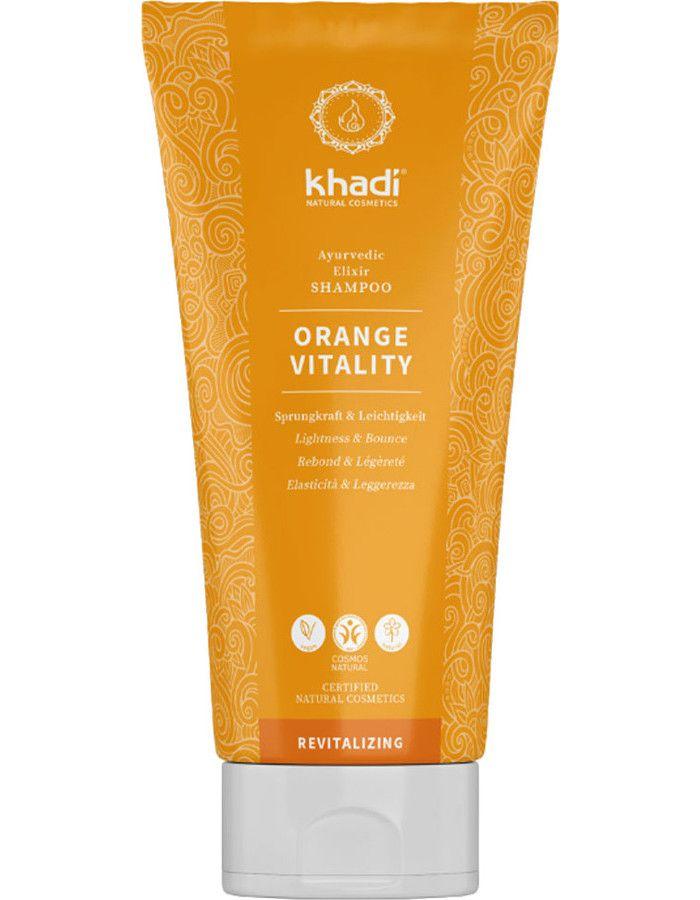 Khadi Ayurvedische Shampoo Orange Vitality 200ml
