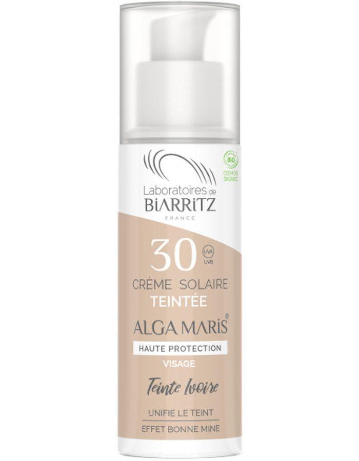 Laboratoires De Biarritz Algamaris Zonnebrand Crème Spf30 Ivory 50ml
