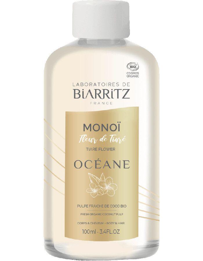 Laboratoires De Biarritz Oceane Monoï Olie Tiara Flower 100ml