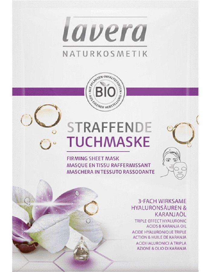 Lavera Organic Firming Sheet Mask