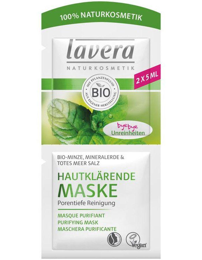 Lavera Organic Purifiying Mask Sachet 2x5ml 4021457622245