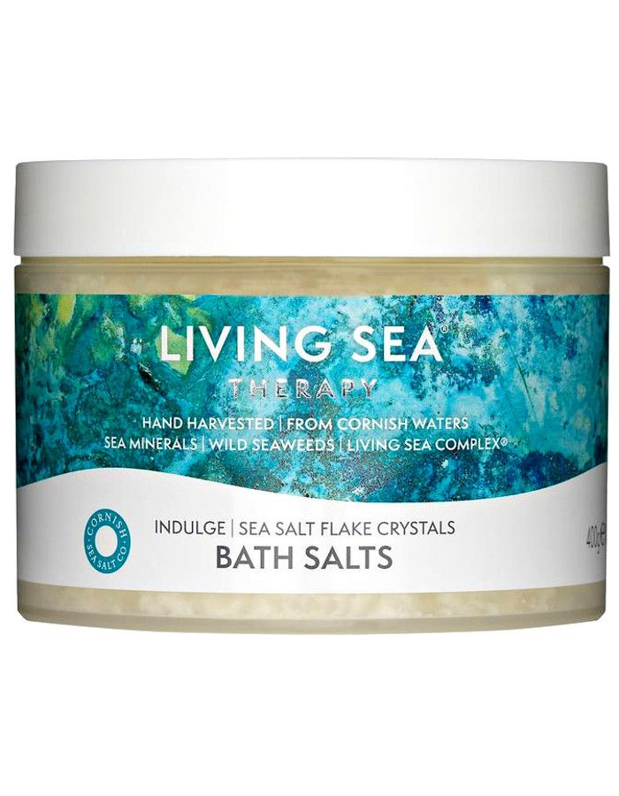 Living Sea Therapy Sea Salt Flake Crystals Indulge Badzout 400gr