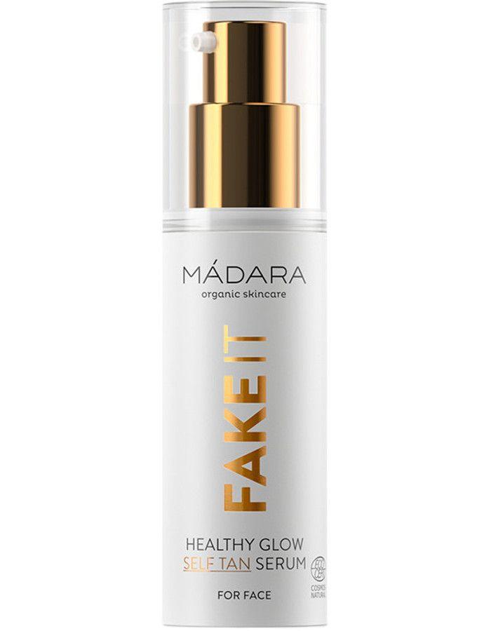 Mádara Fake It Healthy Glow Self Tan Serum 30ml 4752223000980 snel, veilig en gemakkelijk online kopen bij Beauty4skin.nl
